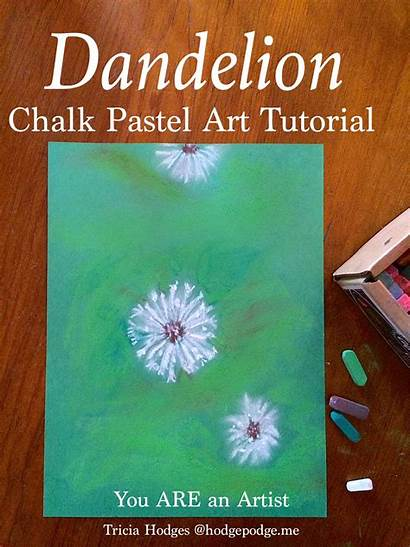 Pastel Tutorial Dandelion Chalk Hodgepodge Artist Pastels
