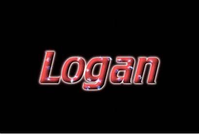 Logan Text Logos
