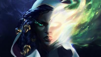 Senna League Legends Wallpapers Leagueoflegends Dead Universe