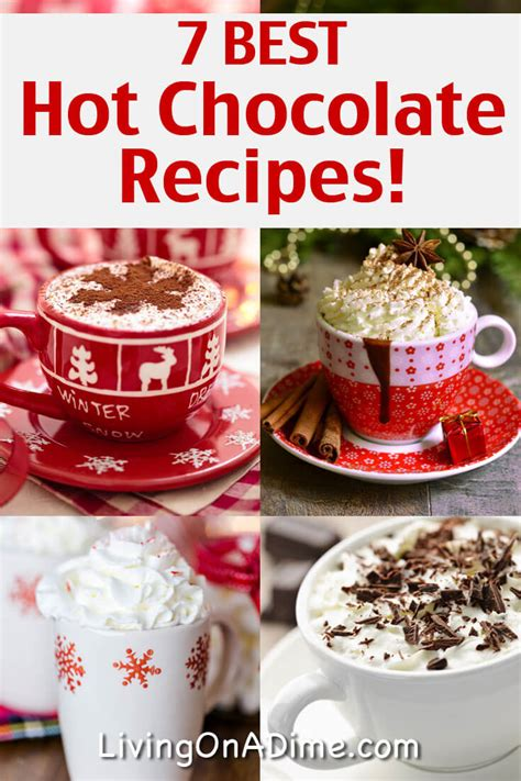 The Best Homemade Hot Chocolate Recipes Living