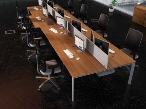 bureau bench bureau bench 4 personnes pas cher