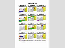 Calendario escolar 20132014 Divino Maestro de Logroño