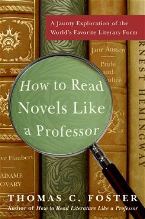 read novels   professor  jaunty exploration