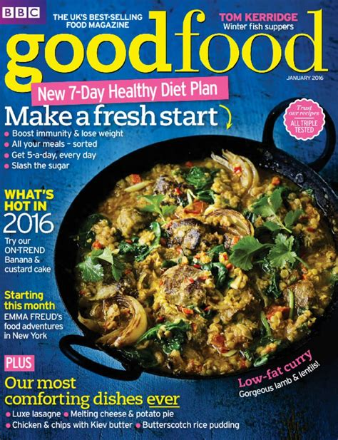 guide cuisine magazine food magazine subscription isubscribe co uk