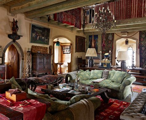 homes interior design photos vanity fair article oct 2017 kilcoe castle restoration