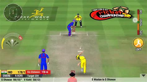 world cricket chionship 2 6 sixes in an hitting