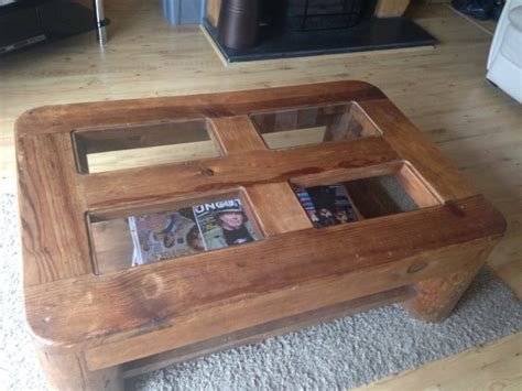 Mexican Pine Coffee Table For Sale In Riverchapel, Wexford