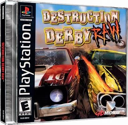 Destruction Derby Raw Games Launchbox Database
