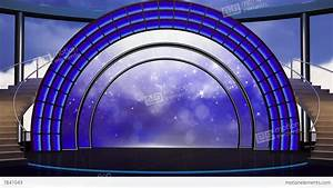 Entertainment TV Studio Set 22 Virtual Green Screen ...