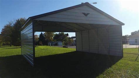 vertical roof carport 28 21 8 metal carport carportus com
