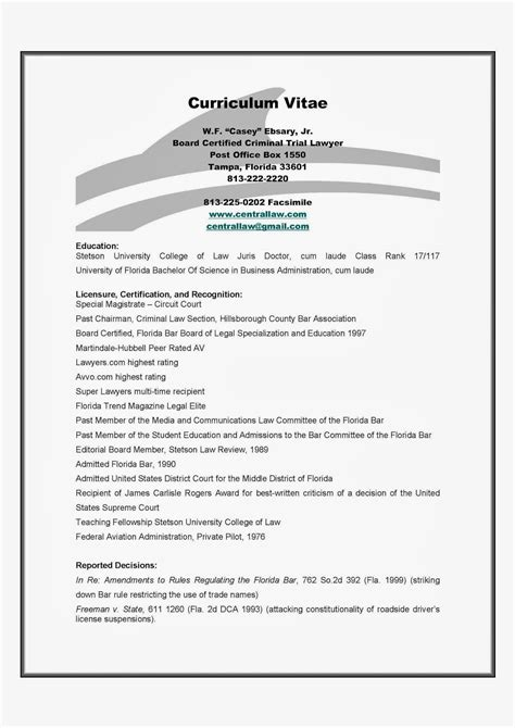Criminal Defence Lawyer Resume by Resume Of Ta Criminal Defense Attorney W F Casey