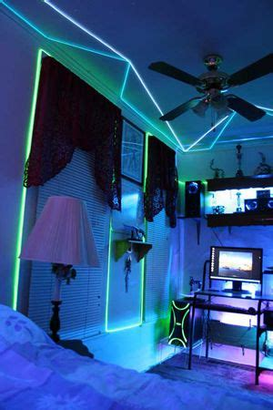 Led Lights Make Room by Glow Necklaces In 2019 Cool Ideas Diy Neon Room