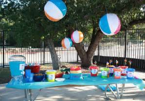 10 Year Old Birthday Party Ideas for a Pool