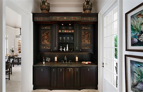 Stylish Home Bars by Bottoms Up 9 Stylish Home Bars Huffpost