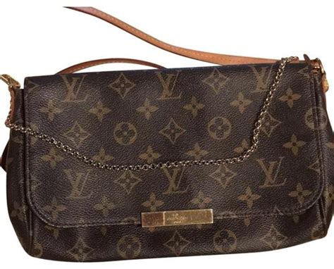 louis vuitton favorite mm brown monogram cross body bag