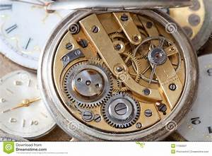 Pocket watch inside stock image Image of open, watches 17060657