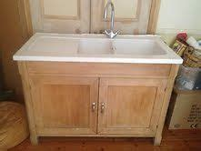details about habitat oliva freestanding kitchen sink unit