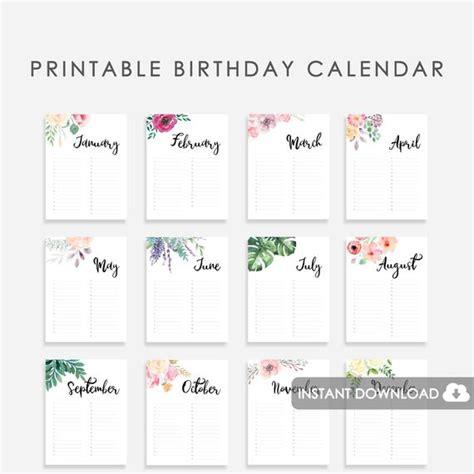 wedding guest book birthday calendar printable wedding