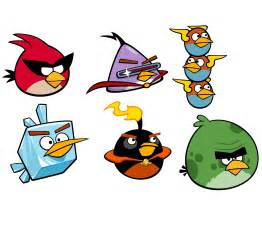 Angry Birds Space Characters