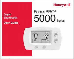 Honeywell Th5220d1003 Owner U0026 39 S Manual
