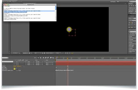 Creating An Atom Animation In After Effects