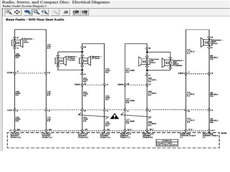 2002 Gmc Envoy Bose Stereo System Wiring Diagram Of In by Im Trying To Hook Up An Aftermarket Radio In My 2003 Gmc