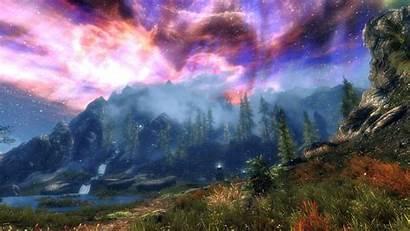 Skyrim Wallpapers Scrolls Elder Sky Computer Amazing