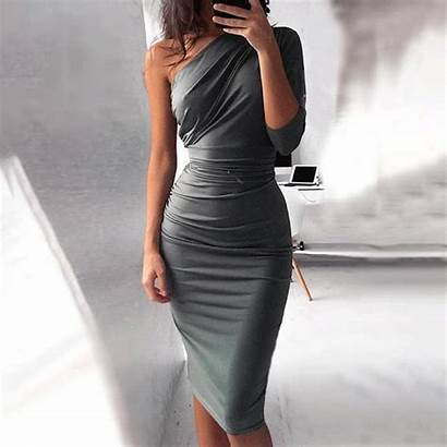 Dresses Bodycon Shoulder Sleeve Tight Short Lace