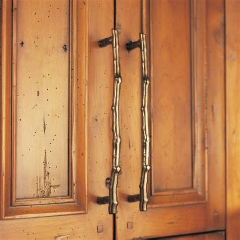 rustic cabinet hardware eye for design branch decor for the non rustic