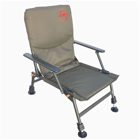 portable folding carp fishing chair cing heavy duty 4