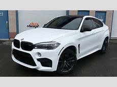 NEW LOOK BMW X6M car wrap time lapse YouTube