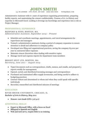 Free Resume Tem by Free Resume Templates For Word Resume Genius