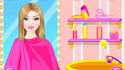 Girl Games Barbie Games Stylish Hairstyle For Barbie