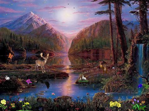 waterfall wallpaper screensaver  image