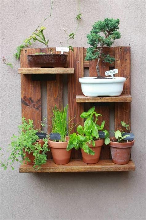 ideas de jardineras  palets hechas  mano