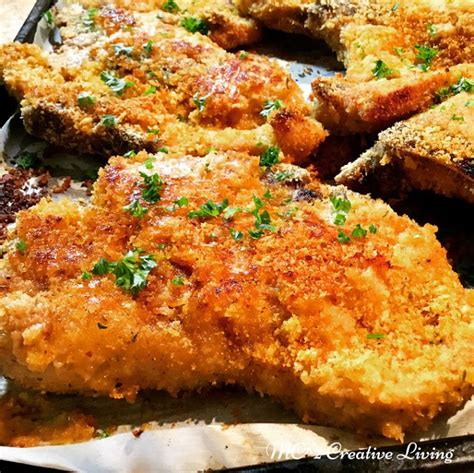 What temperature should pork chops be cooked at? Crispy Oven Baked Pork Chops   Recipe   Baked pork, Baked ...