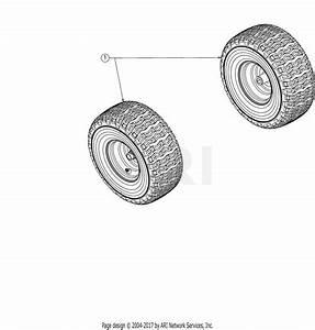 Troy Bilt Pony 13wm77ks211  2016  Parts Diagram For Wheels