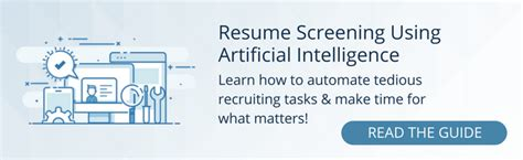 Resume Screening by A Resume Screening Checklist For Identifying The Best