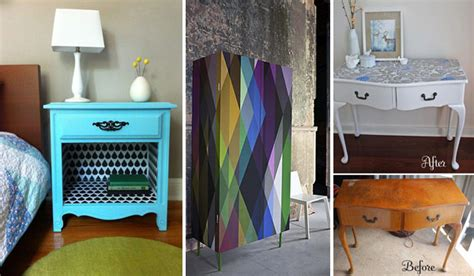 furniture makeovers 27 cool diy furniture makeovers with wallpaper amazing Diy