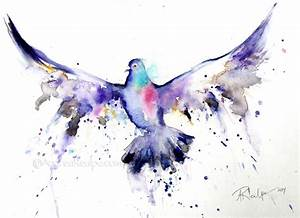 Animals For > Watercolor Birds Flying | Watercolor tattoo ...
