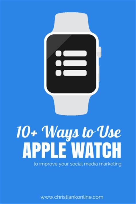 how to use apple for social media to get more done