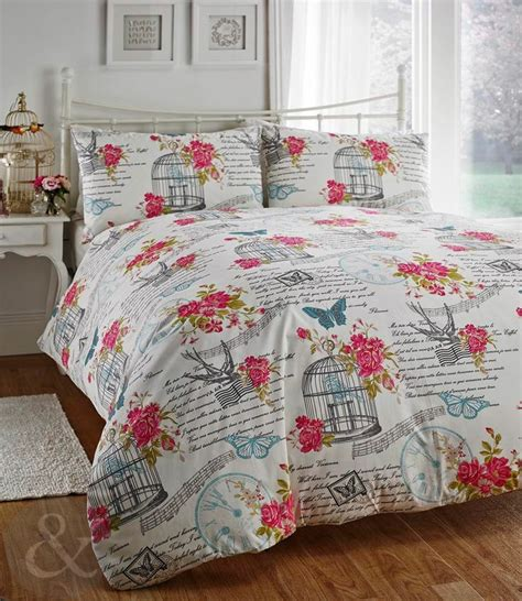 teal shabby chic bedding shabby chic bedding set birdcage butterfly cream teal blue pink duvet cover bedrooms