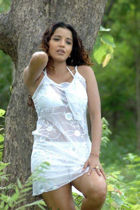 actress monalisa latest white bikini photoshoot beautiful