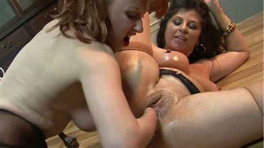#Slutty #Lesbians #With #Big #Boobs #Do #Pussy #Fisting #To #Each #Other