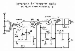 Two Transistor  Boy U0026 39 S Radio  Schematic And Theory Of