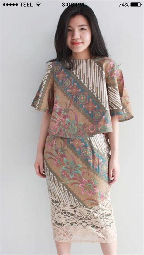 batik dress ideas  pinterest model dress
