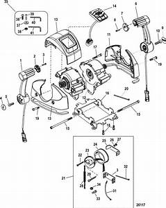 Mercury Marine Remote Controls  U0026 Components Remote Control   Console With Can