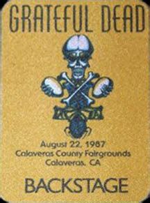 grateful dead    calaveras county fairgrounds