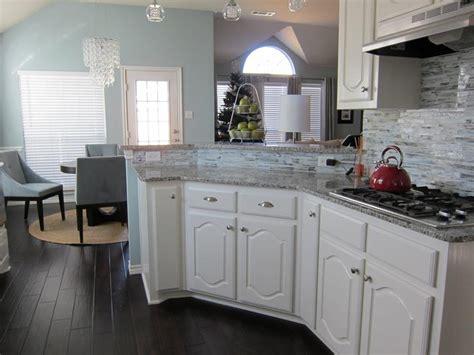 elegant kitchens  hardwood floors