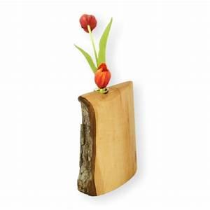 Deko Aus Holz : vase aus holz mit rinde klein blumenvase holzvase reagenzglas glas ~ Markanthonyermac.com Haus und Dekorationen